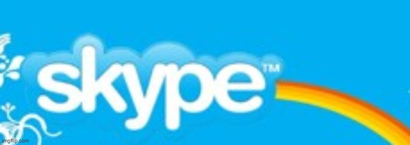 Corrupted Skype | image tagged in corrupted skype,the end is near | made w/ Imgflip meme maker