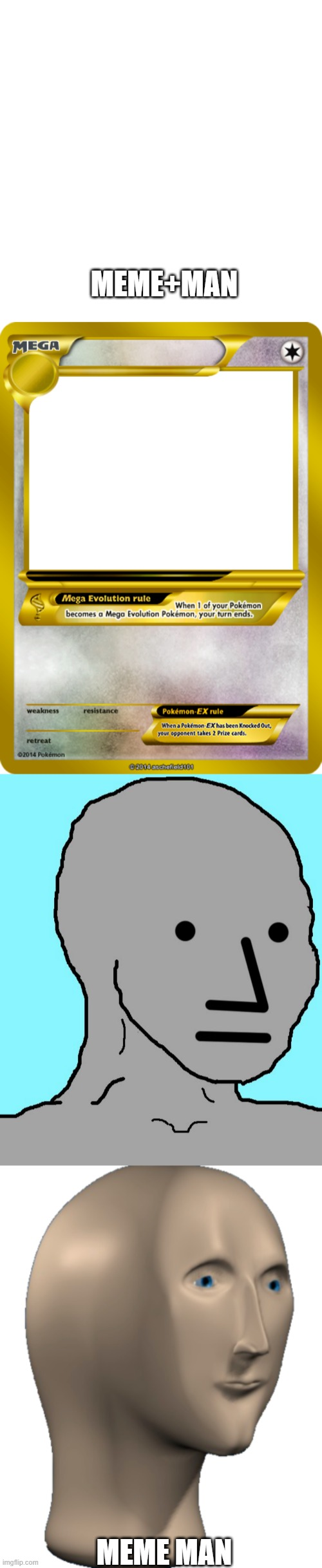 Image tagged in memes,npc,blank transparent square,pokemon ...