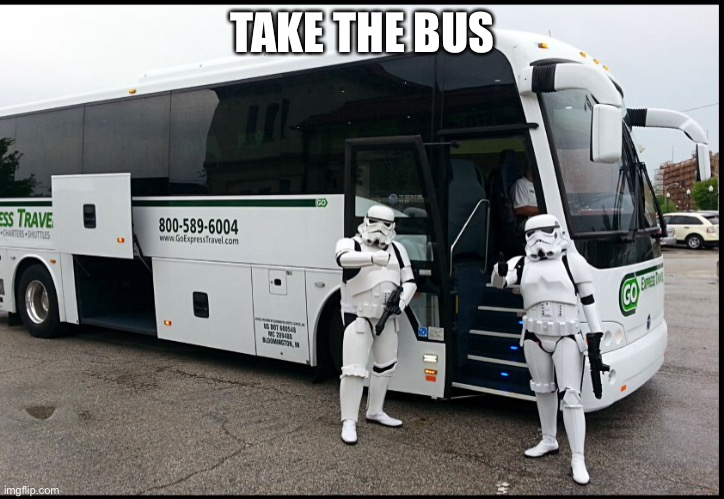 TAKE THE BUS | made w/ Imgflip meme maker
