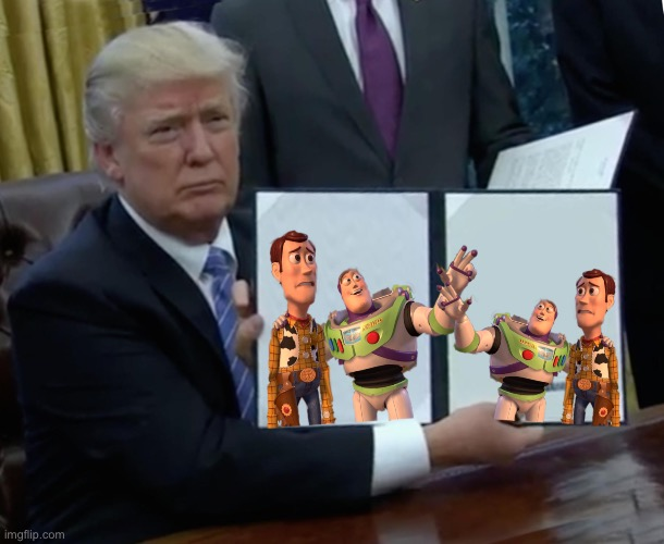 BuZzWard | image tagged in memes,trump bill signing,toyirh storith | made w/ Imgflip meme maker