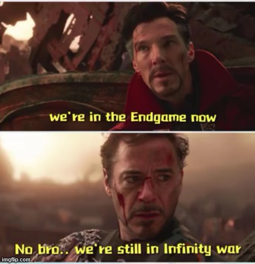 Lol memes | image tagged in avengers infinity war,doctor strange,iron man | made w/ Imgflip meme maker