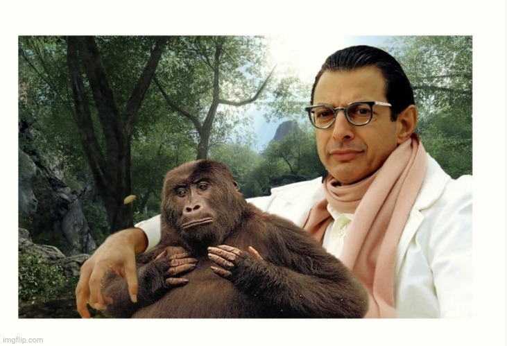 Beautiful art... | image tagged in jeff goldblum,beautiful,beautiful nature,art | made w/ Imgflip meme maker