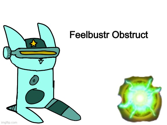 Feelbustr Obstruct (Filibuster Obstructa in a style of Feddy Meme) |  Feelbustr Obstruct | image tagged in funny,memes,derpy,cats,drawing,stop reading the tags | made w/ Imgflip meme maker