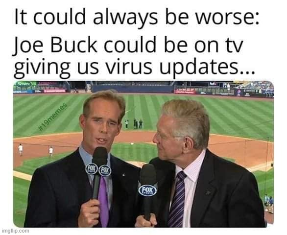 Buck vs MLB | image tagged in joe buck,memes | made w/ Imgflip meme maker