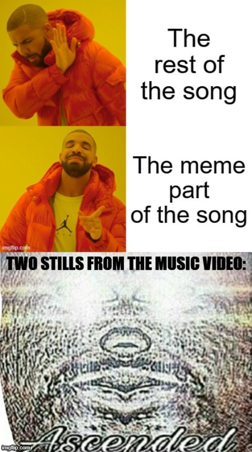 Meme making 101 | image tagged in memes about memes,memes about memeing,drake hotline bling,hotline bling,i sleep meme with ascended template,meanwhile on imgflip | made w/ Imgflip meme maker