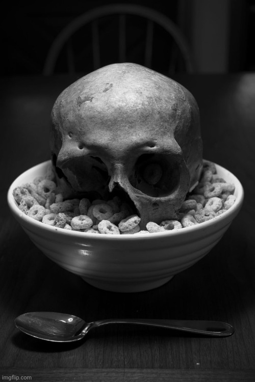 Skull cereals man wtf? | image tagged in skulls | made w/ Imgflip meme maker