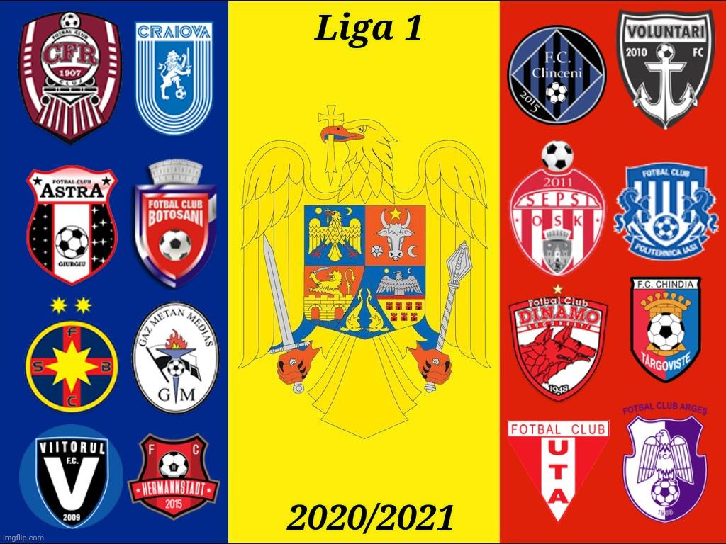 Liga Romania With Teams Imgflip