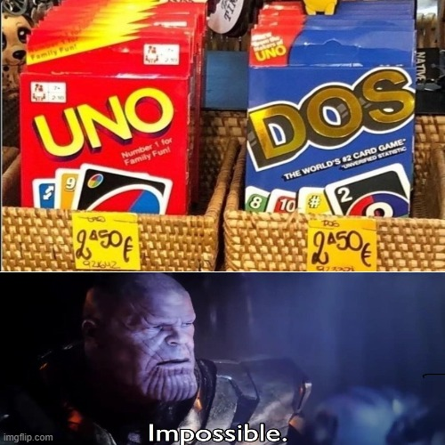 wait... | image tagged in impossible,uno | made w/ Imgflip meme maker