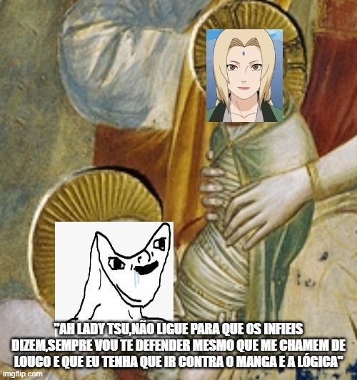 Dotonuser está criando uma religião baseada na Tsunade ? 4ampr9