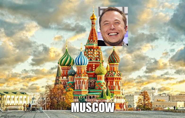 Moscow Red Square |  MUSCOW | image tagged in moscow red square | made w/ Imgflip meme maker