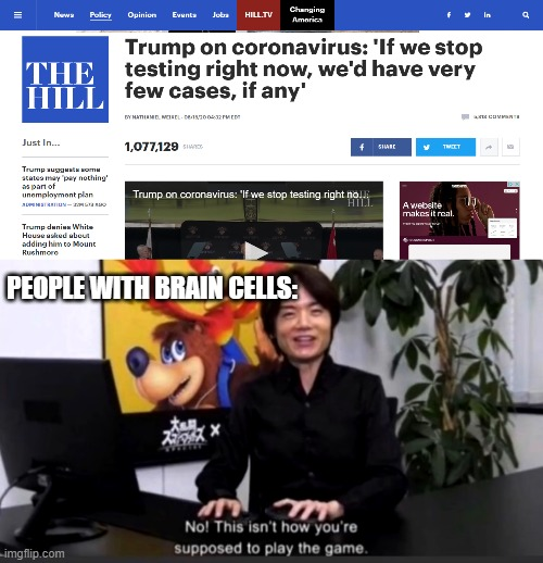 PEOPLE WITH BRAIN CELLS: | image tagged in no this isnt how your supposed to play the game | made w/ Imgflip meme maker