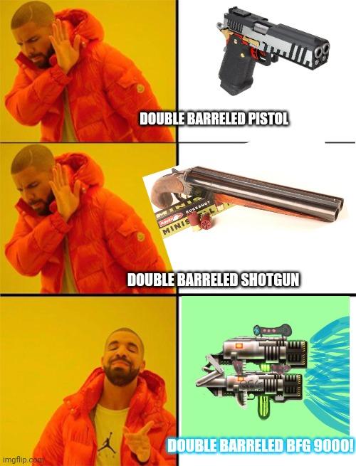 doom guy shotgun meme