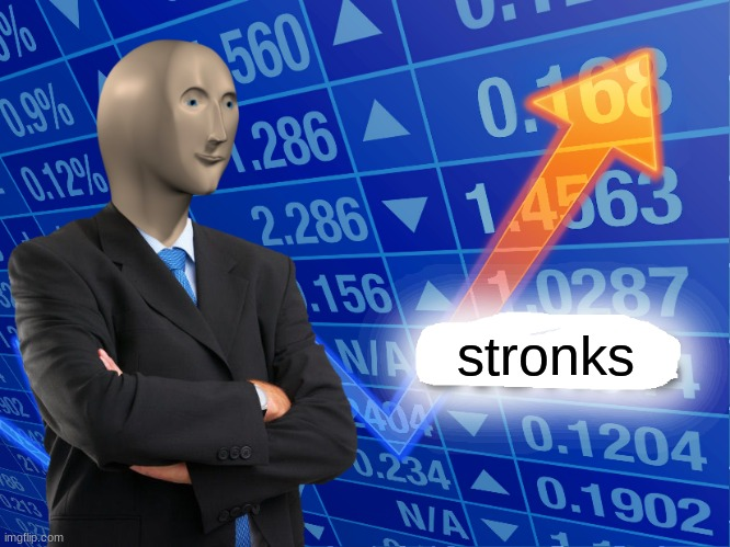 Empty Stonks | stronks | image tagged in empty stonks | made w/ Imgflip meme maker