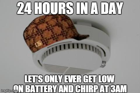 Meet Every Smoke Detector I Ve Ever Had Imgflip