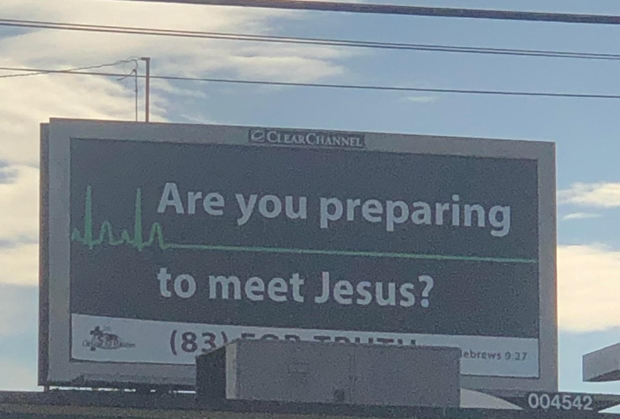 Are you preparing to meet Jesus Memes - Imgflip