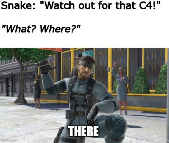 """There!"" 