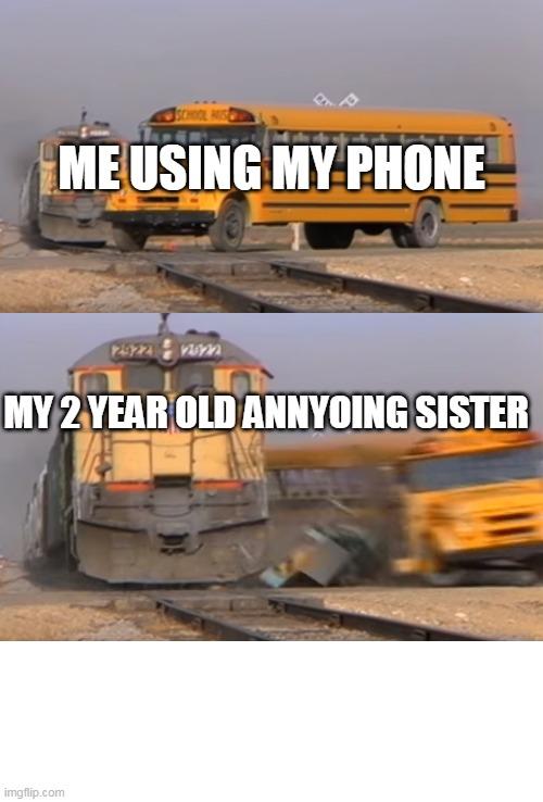 A Train Hitting A School Bus Memes Gifs Imgflip