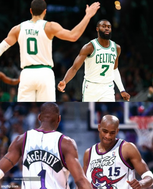 The Second Coming | image tagged in nba,celtics,raptors | made w/ Imgflip meme maker