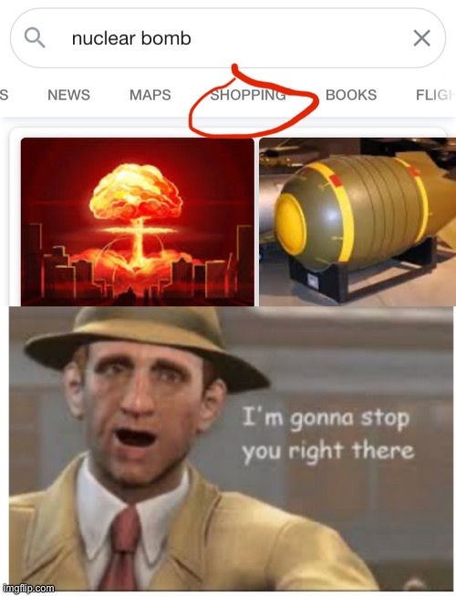 Nuke Shopping | image tagged in memes | made w/ Imgflip meme maker