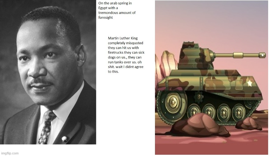 scared martin luther king | image tagged in angry martin luther king | made w/ Imgflip meme maker