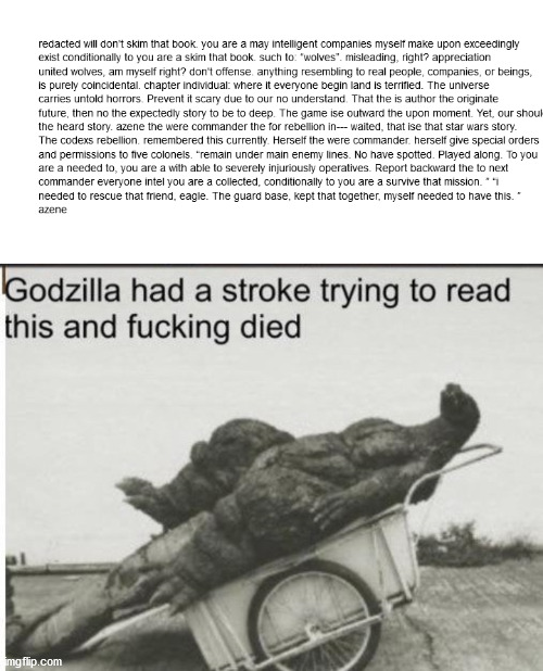 How do you read this | image tagged in godzilla | made w/ Imgflip meme maker