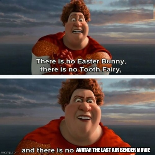 "TIGHTEN MEGAMIND ""THERE IS NO EASTER BUNNY"" 