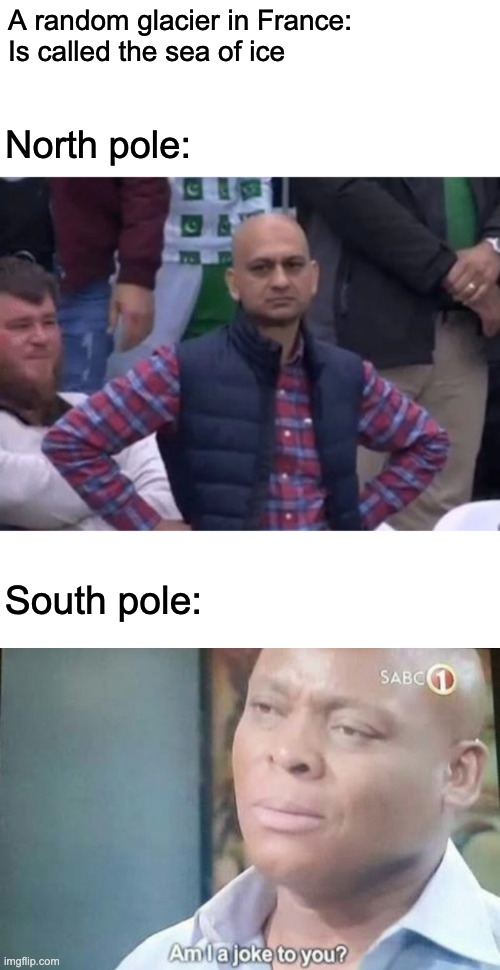 """The sea of ice"" 