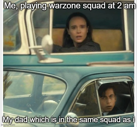 Image Tagged In Umbrella Academy Car Imgflip