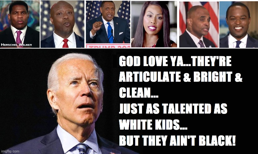 Biden Gaffe Machine | image tagged in joe biden,rnc convention,black,conservatives | made w/ Imgflip meme maker