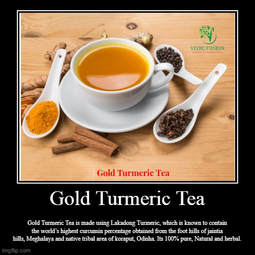 Golf Turmeric Tea - Best Immunity Booster | Gold Turmeric Tea | Gold Turmeric Tea is made using Lakadong Turmeric, which is known to contain the world's highest curcumin percentage obt | image tagged in herbaltea,tea,turmerictea,health,healthcare,fitness | made w/ Imgflip demotivational maker