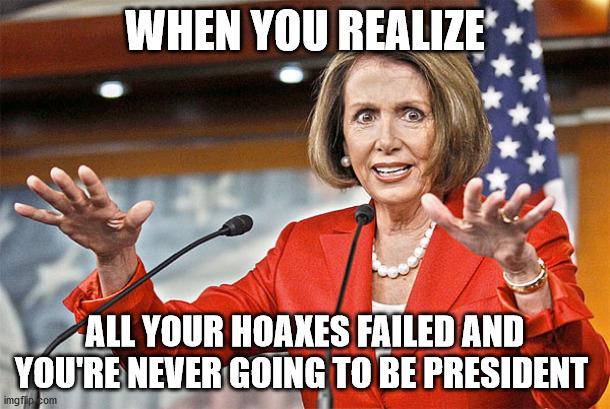 Nancy Pelosi is crazy - Imgflip