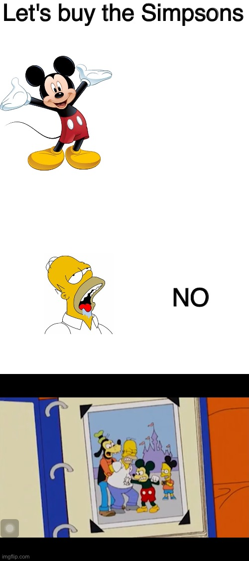 "Disney ""buys"" The Simpsons 