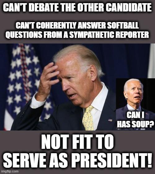 Joe Biden is a senile creep. - Imgflip