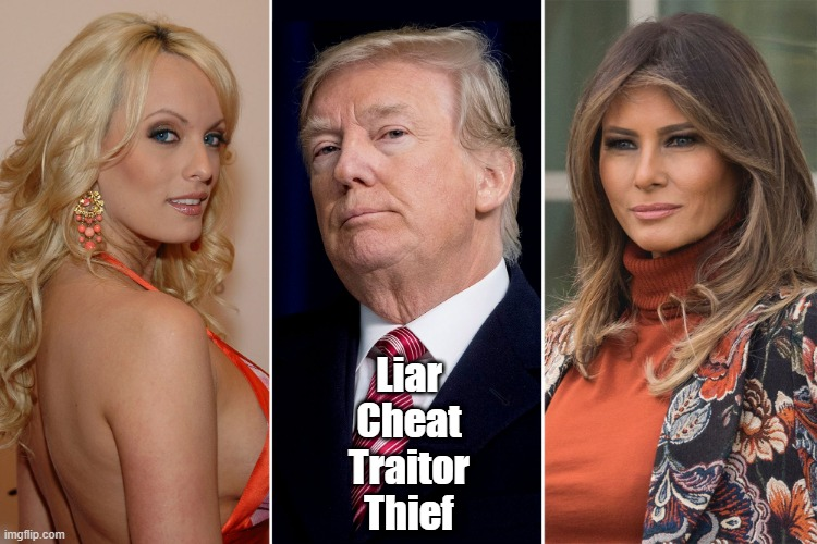 """Liar. Cheat. Traitor. Thief"" 