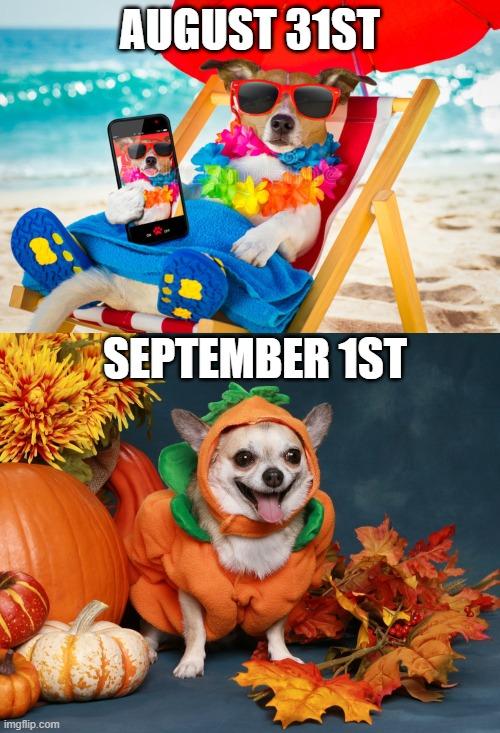 Anybody ready for fall? - Imgflip
