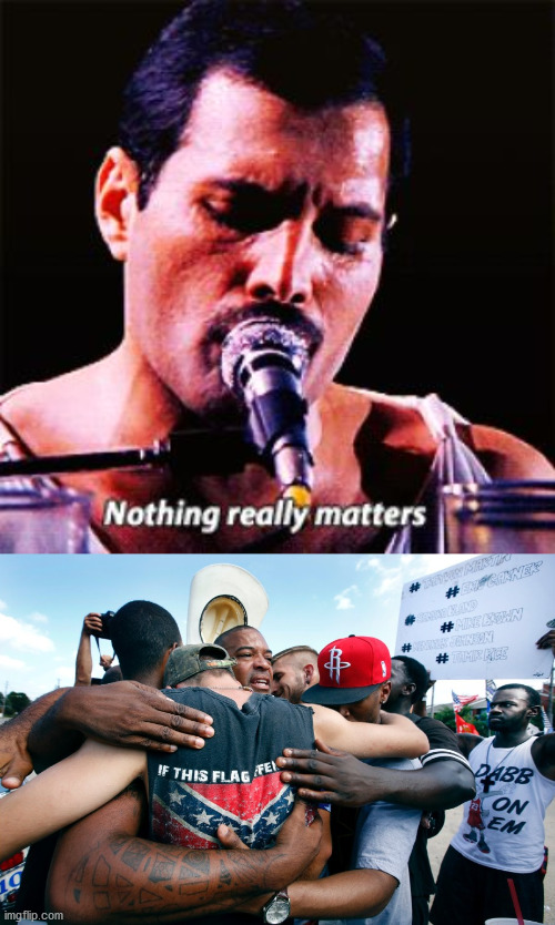Bohemian rhapsody | image tagged in queen,blm,all lives matter | made w/ Imgflip meme maker