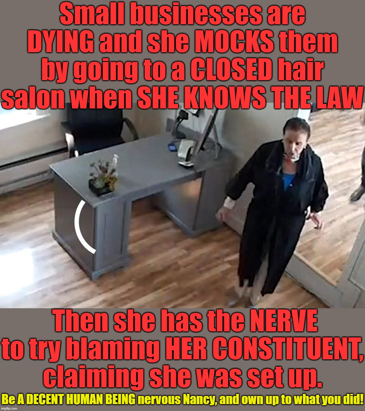 Pelosi Is A Hypocrite And A Liar Imgflip
