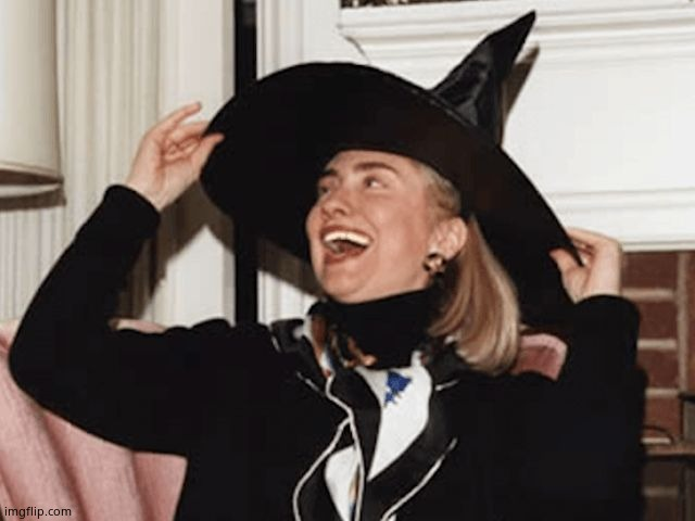 Witch Hillary | image tagged in witch hillary | made w/ Imgflip meme maker