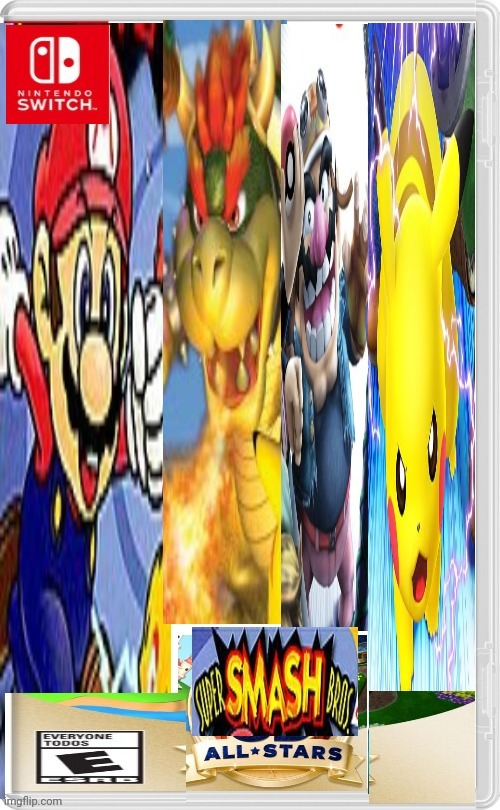 All smash games | image tagged in mario,memes,super smash bros | made w/ Imgflip meme maker