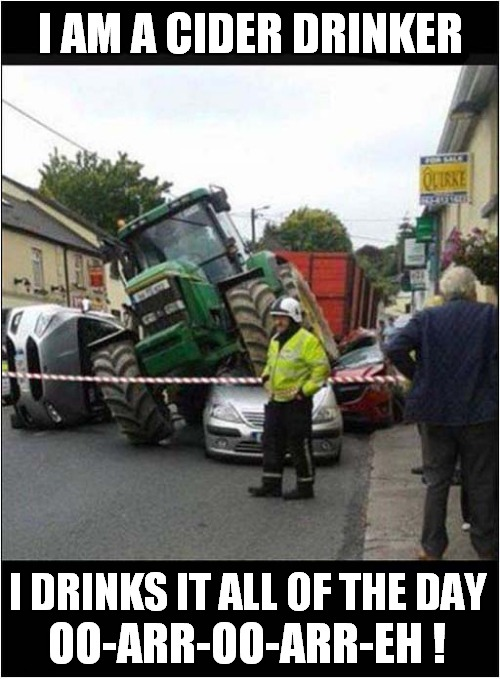 The Ultimate Wurzels Tribute Act |  I AM A CIDER DRINKER; OO-ARR-OO-ARR-EH ! I DRINKS IT ALL OF THE DAY | image tagged in fun,song lyrics,1970's | made w/ Imgflip meme maker