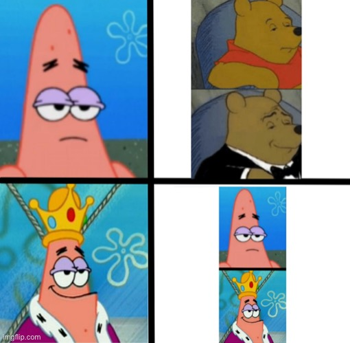 Can we make this a thing????? | image tagged in patrick star,spongebob,pineapple,pizza,pizza time stops,loads lmg with religious intent | made w/ Imgflip meme maker