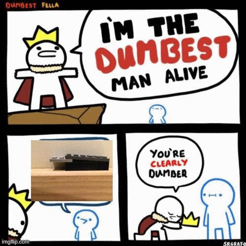 I'm the dumbest man alive | image tagged in i'm the dumbest man alive | made w/ Imgflip meme maker
