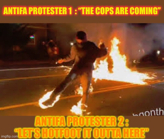 Politics Antifa On Fire Memes Gifs Imgflip