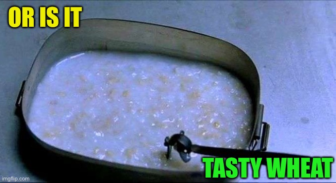 Tasty Wheat | OR IS IT TASTY WHEAT | image tagged in tasty wheat | made w/ Imgflip meme maker