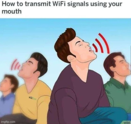 Wikihow is broken | image tagged in wikihow,is,broke,wifi | made w/ Imgflip meme maker