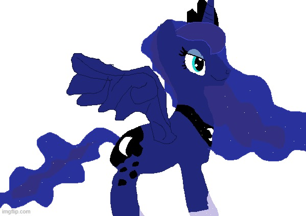i JuSt LovE mY stAR baRrETtes | image tagged in princess luna,drawings,my little pony friendship is magic | made w/ Imgflip meme maker