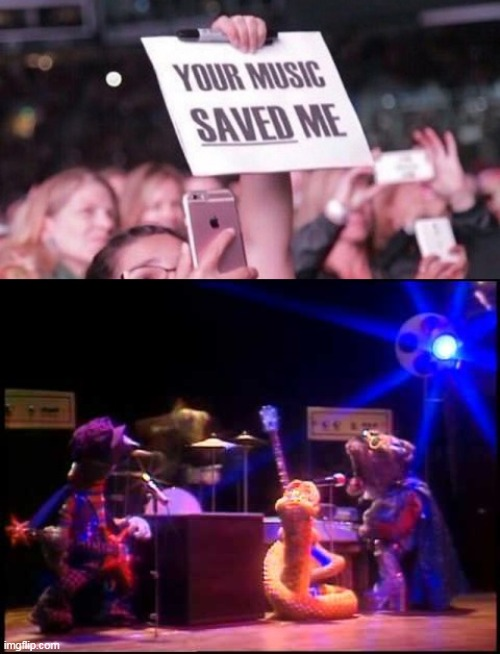 Riverbottom Nightmare Band | image tagged in movie,christmas,holiday,muppets,band,music | made w/ Imgflip meme maker