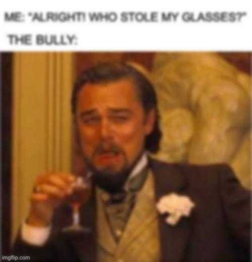 image tagged in django unchained,leonardo dicaprio,laughing,glasses,leo dicaprio | made w/ Imgflip meme maker