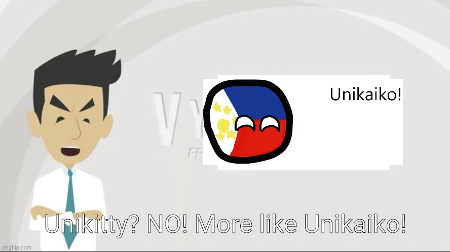FOR GAME OF DUY ANH |  Unikitty? NO! More like Unikaiko! | image tagged in philippinesball unikaiko,rant | made w/ Imgflip meme maker