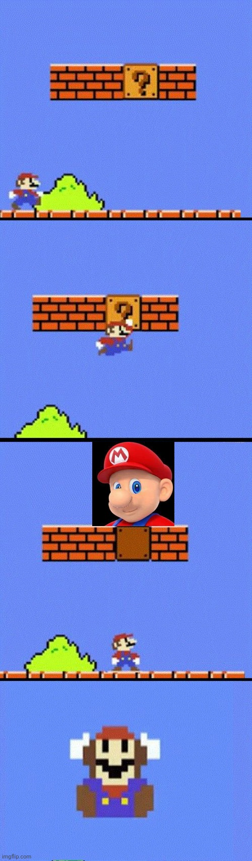 IS MARIO FIGHTING CANCER? | image tagged in mario dies,super mario bros,mustache,mario | made w/ Imgflip meme maker